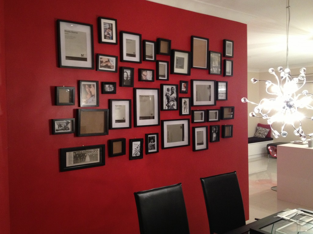 DIY-frame-wall