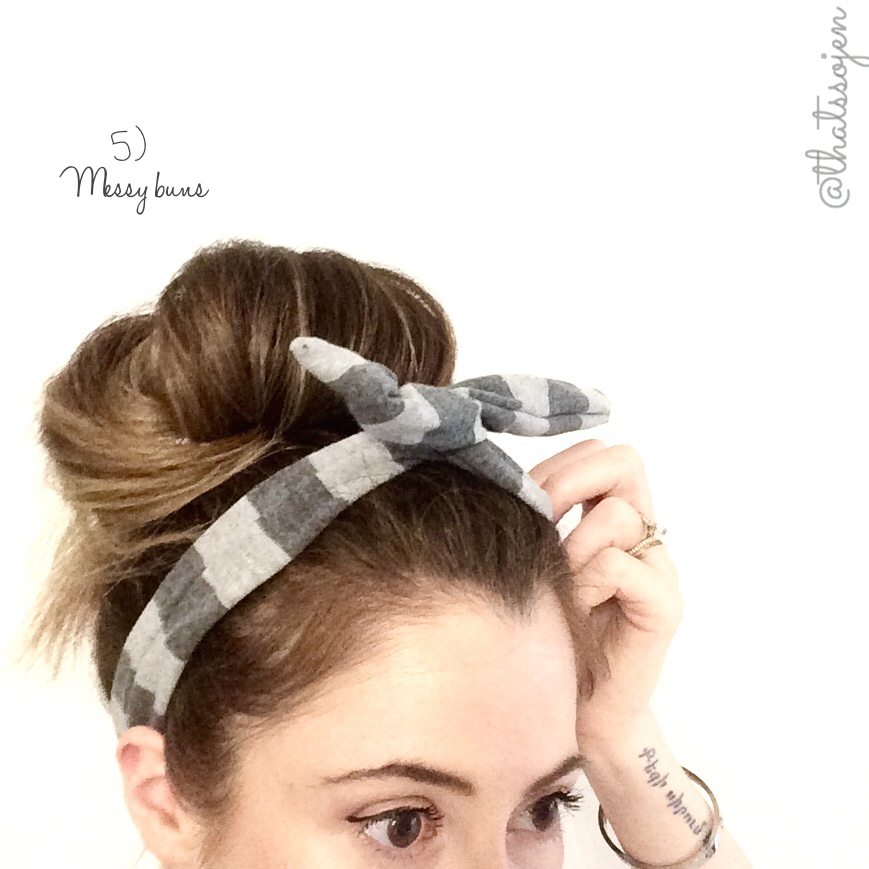 easy-hairstyles-messy-bun
